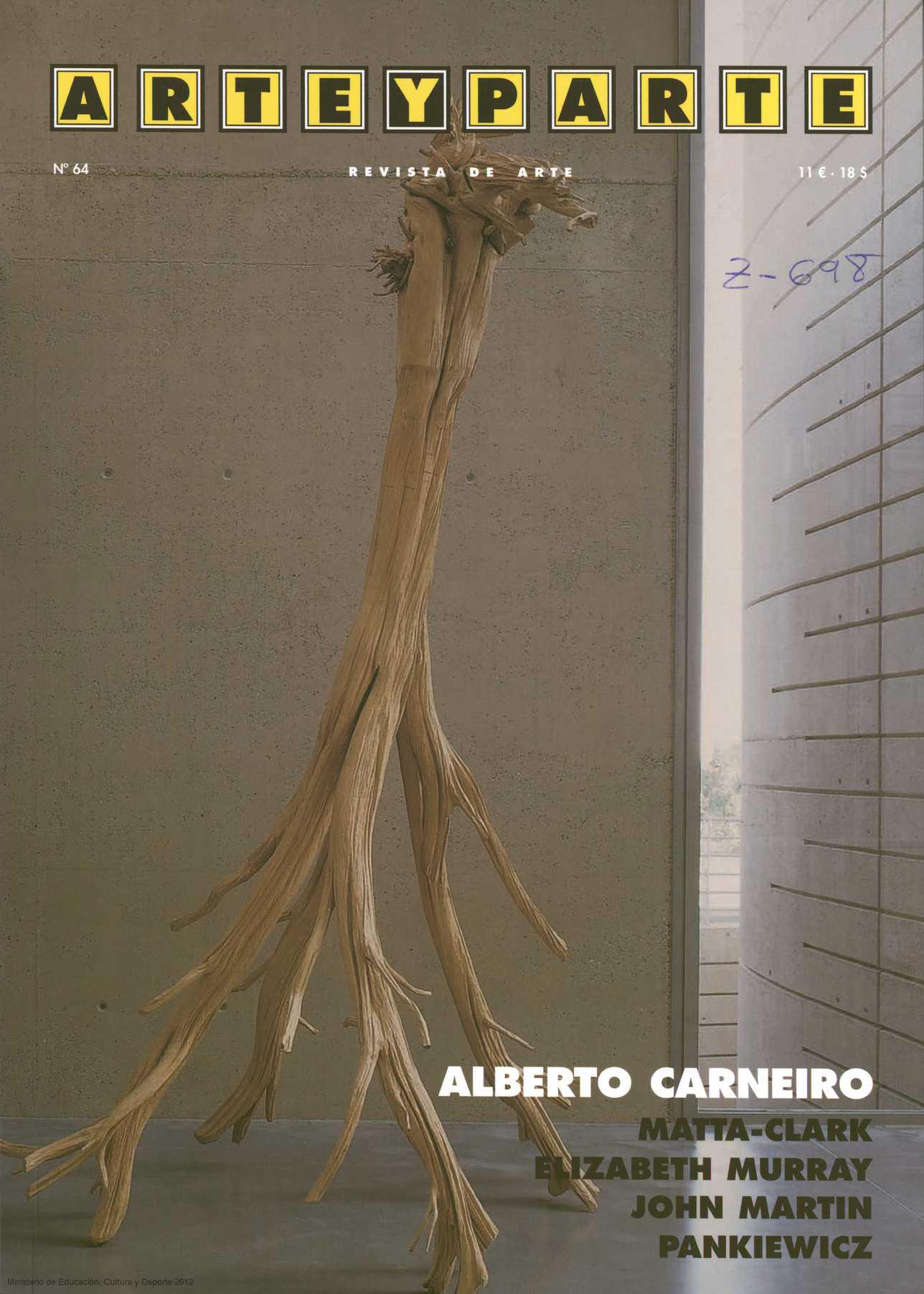 Portada Arte y Parte - Edición nº 64 - Agosto - Septiembre 2006